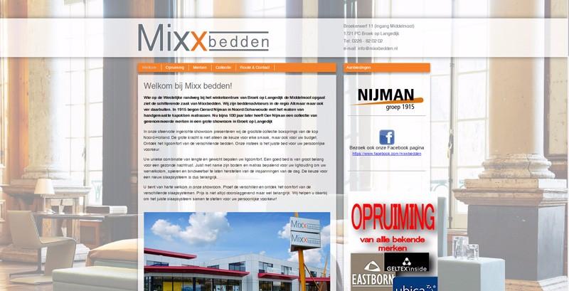 Mixx Bedden